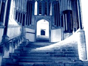 Wells Cathederal Chapter House Steps