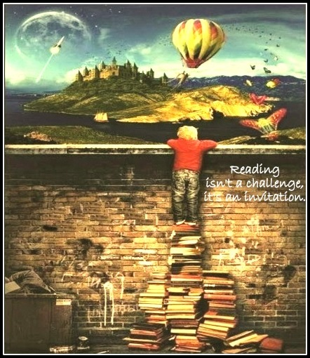 Reading Isn't A Challenge It's An Invitation