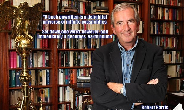 Robert harris, Meet the author