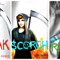 """Croak"" trilogy by Gina Damico - orignal, dark, witty and increasingly grim YA fantasy series"