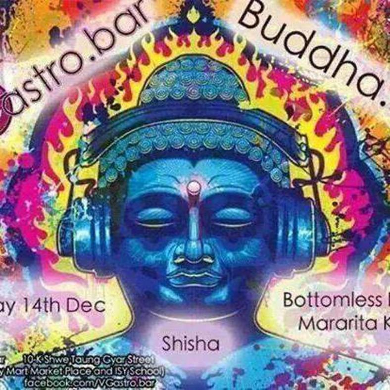 buddha does not wear headphones in myanmar
