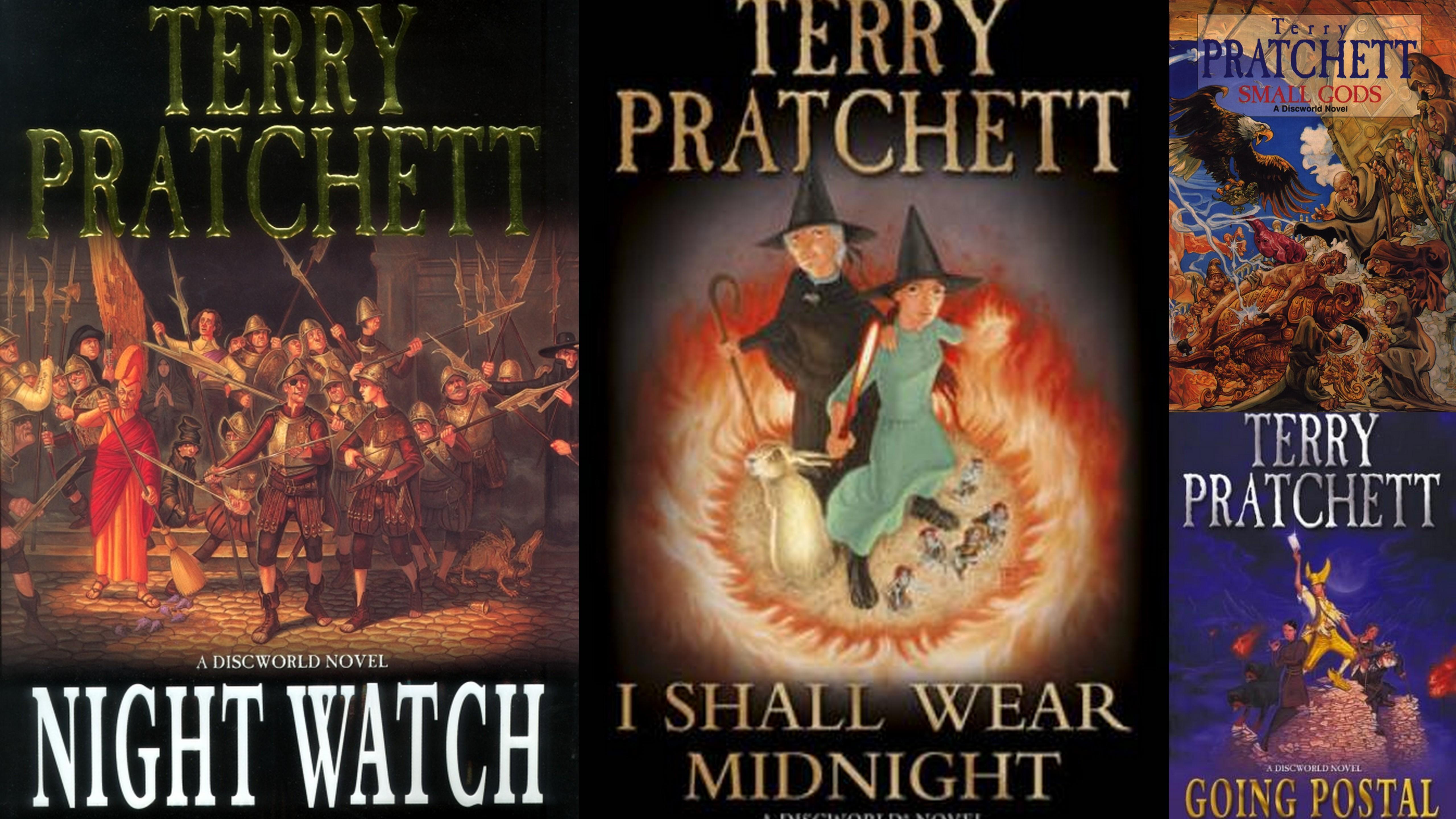 Terry Pratchett collage