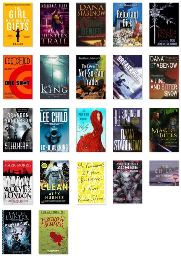 Books Jan - March 2015
