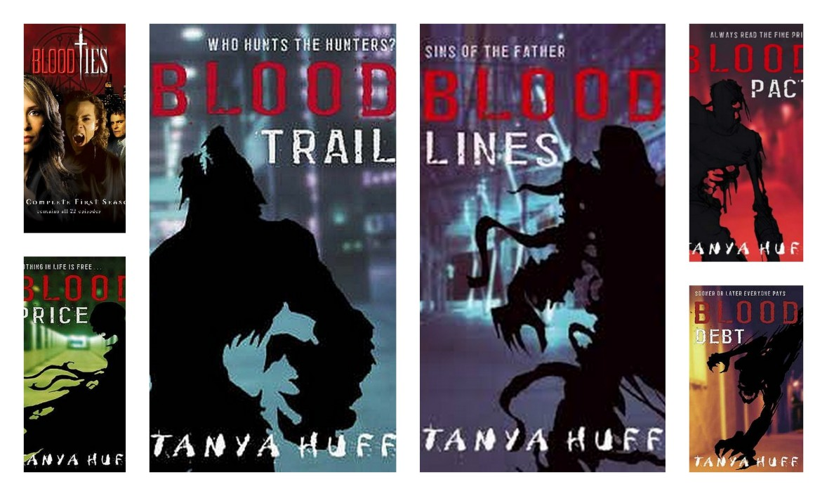 Blood series Tanya Huff