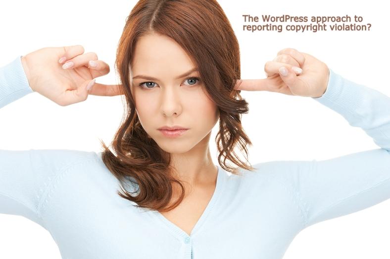 WordPress isn't listening