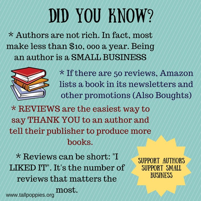 authors are small businesses