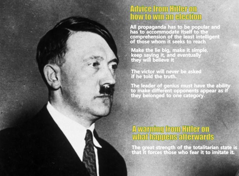 "Adolf Hitler, c 1931. """