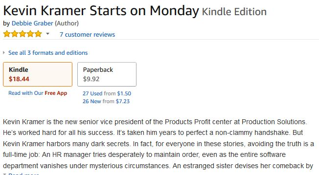 crazy kindle pricing