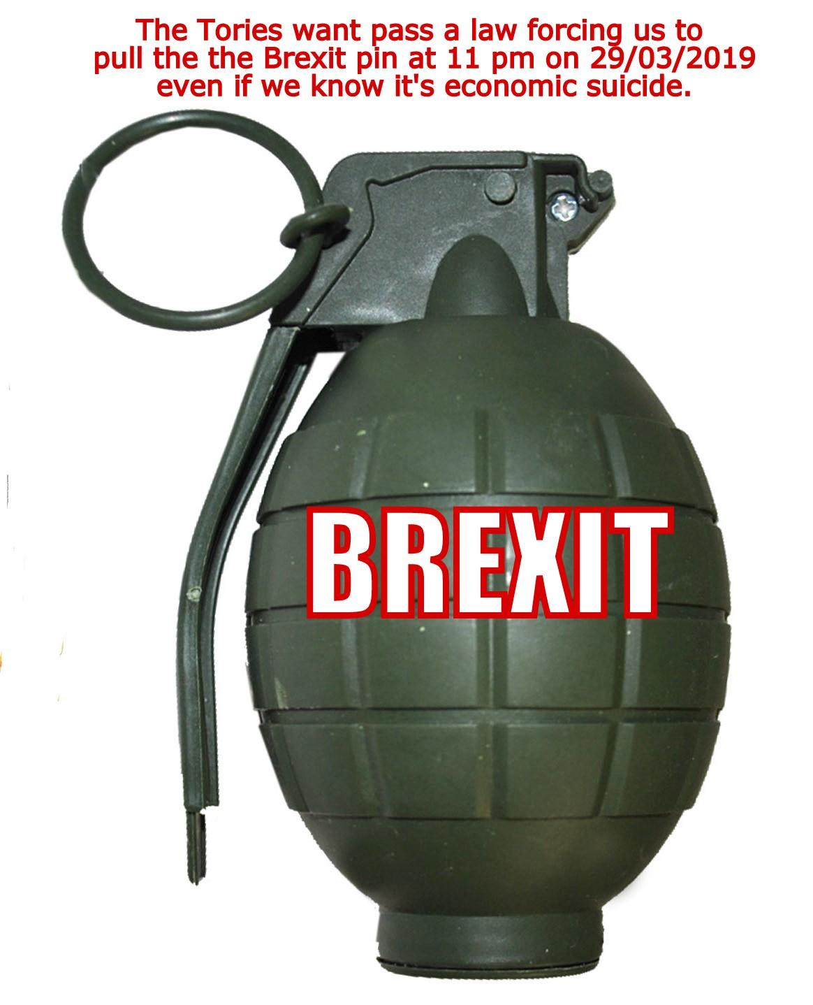 brexit grenade