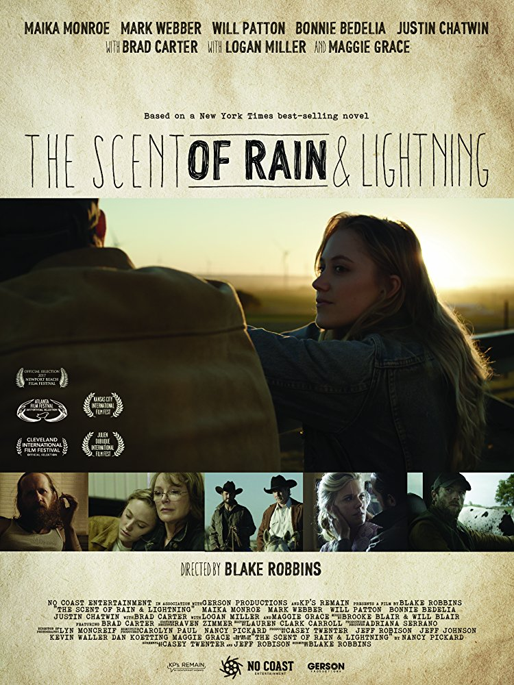 scent of rain and lightning movie poster