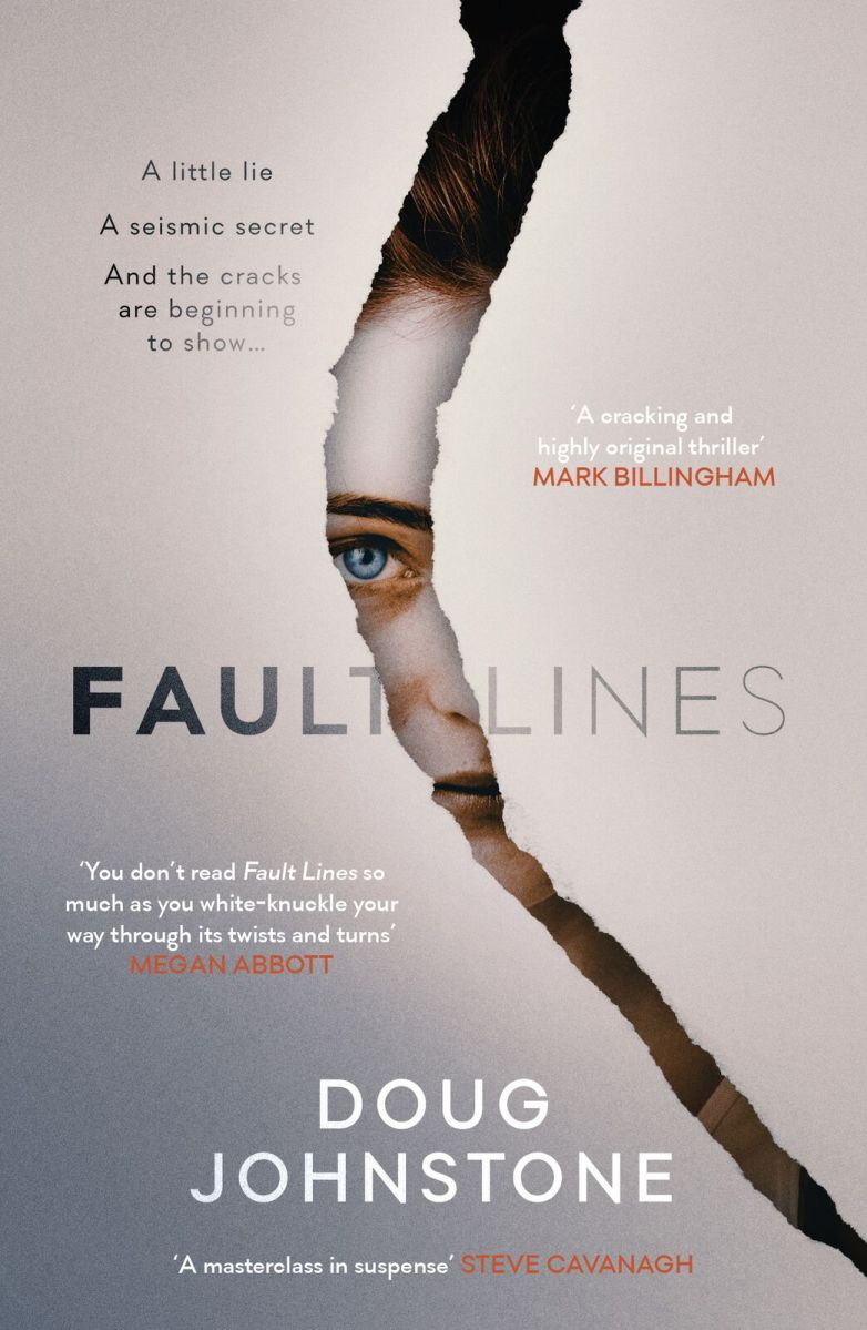 """Fault Lines"" by Doug Johnstone"