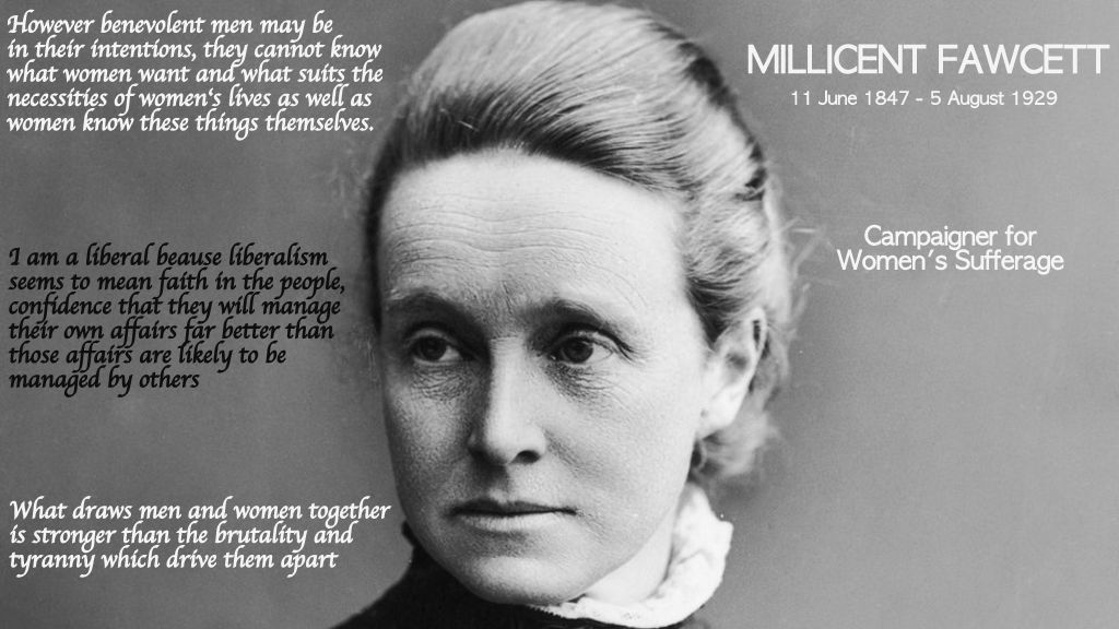 Millicent Fawcett quotes
