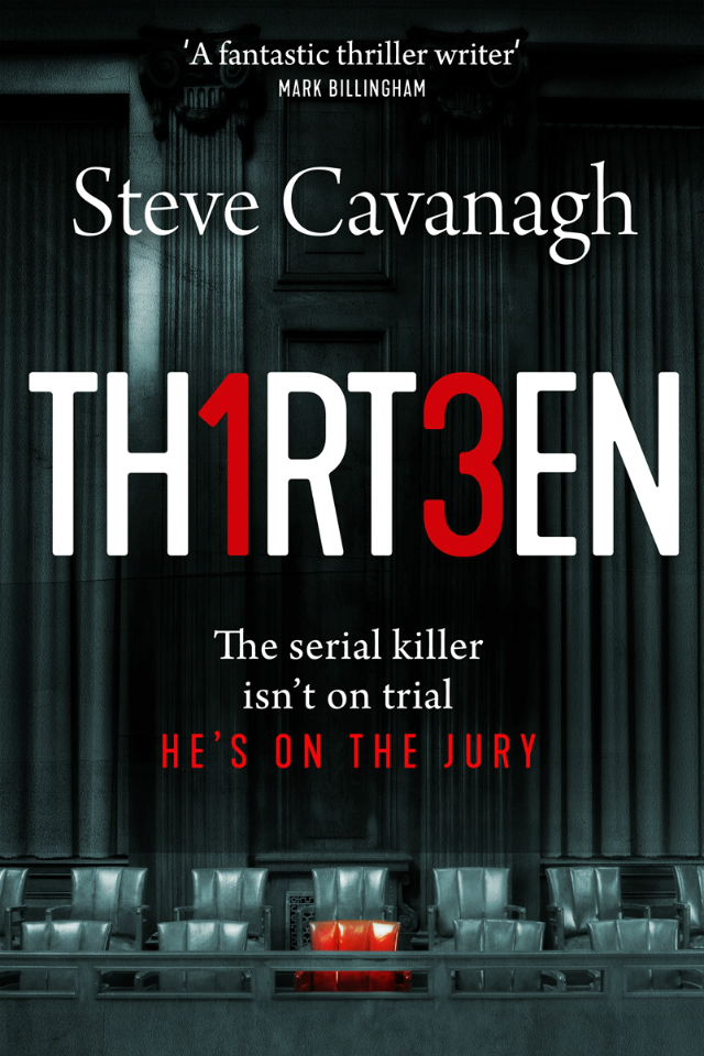 Thirteen-by-Steve-Cavanagh