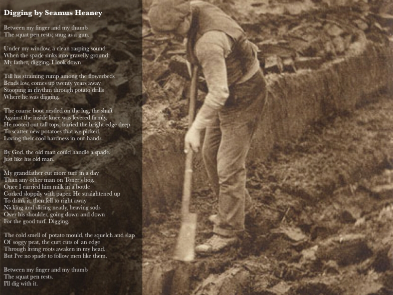Digging by Seamus Heaney.001
