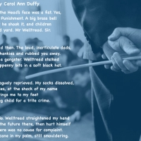 Some thoughts on 'Welltread' by Carol Ann Duffy and my own experience of being caned.